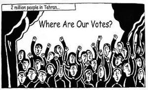 HQ conta os protestos no Irã depois da reeleição de Ahmadinejad - Reprodução